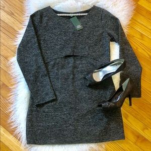 Wild Fable Gray Dress NWT L